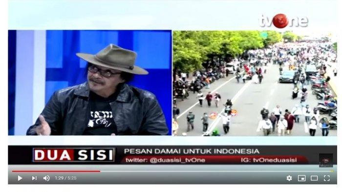 Sudjiwo Tedjo Nyatakan Kritik untuk Polisi dalam Penanganan Aksi 22 Mei (Capture Tv One)