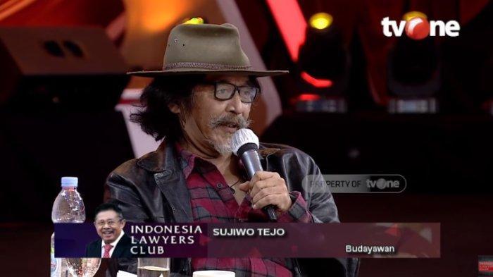 Biasa Ngajar Akting, Sujiwo Tejo Komentari Jokowi Marah: Kalau Rakyat Jangan sampai Mati, Itu Serius