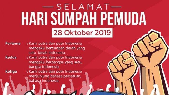 Bahasa Indonesia Dengan Sumpah Pemuda Rayakan Hari Sumpah Pemuda Tagar Sumpahpemuda2019 Hiasi Trending Topik Twitter Tribun Wow
