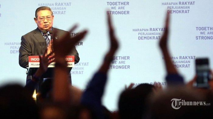 SBY Sebut Partai Demokrat Tak Bisa Imbangi Koalisi Jokowi, Singgung Beratnya Perjuangan Kader