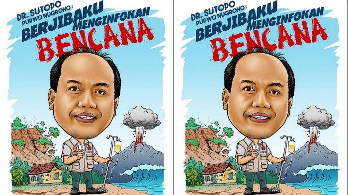 Bukan Raisa, Sutopo BNPB akan Bertemu Jokowi Siang Ini