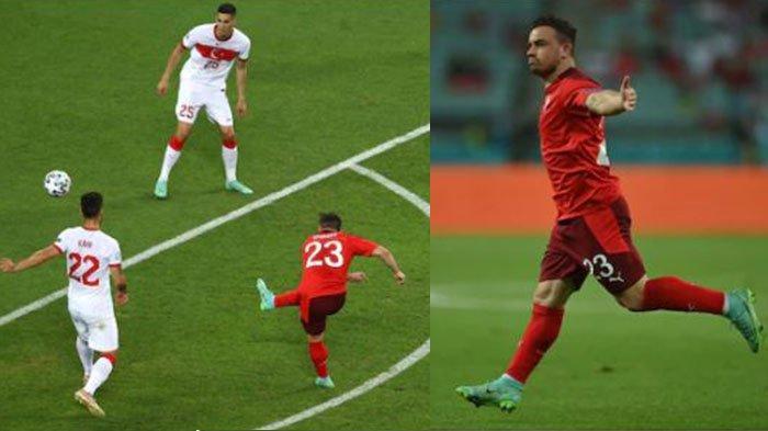 Hasil EURO 2020: Swiss Kalahkan Turki 3-1, Namun Gagal Tembus 2 Besar Klasemen Grup A