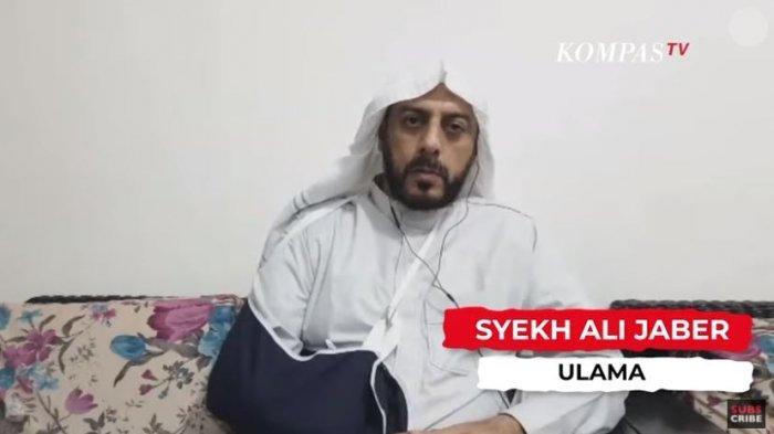 Syekh Ali Jaber menjelaskan kronologi penusukan dirinya, dalam YouTube Kompastv, Senin (14/9/2020).