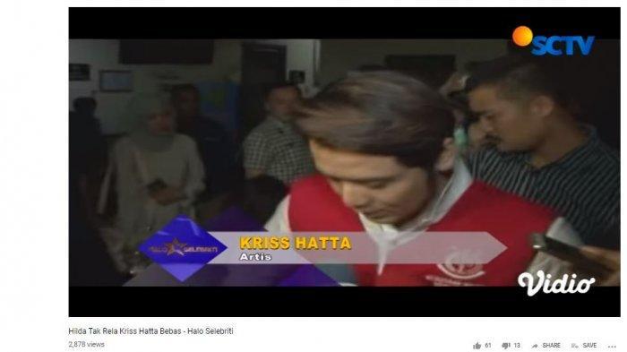 Kriss Hatta memberikan pernyataan setelah keluar dari ruang sidang, tayangan Halo Selebriti Selasa (21/5/2019).