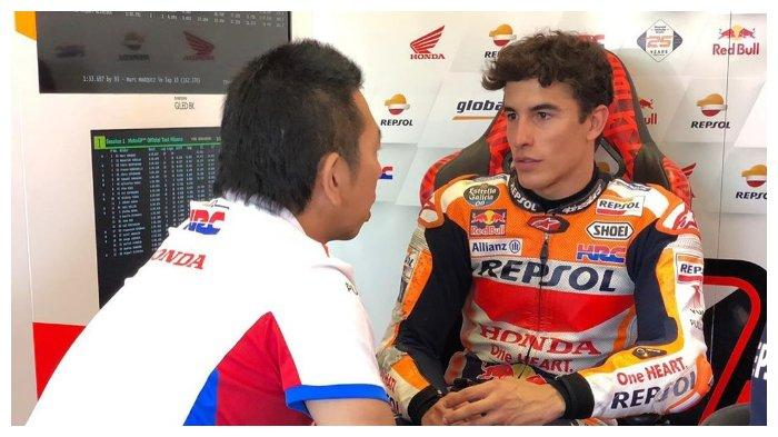 Ungkap Kegagalannya pada MotoGP Malaysia 2019, Marc Marquez: Vinales Berhasil Melarikan Diri