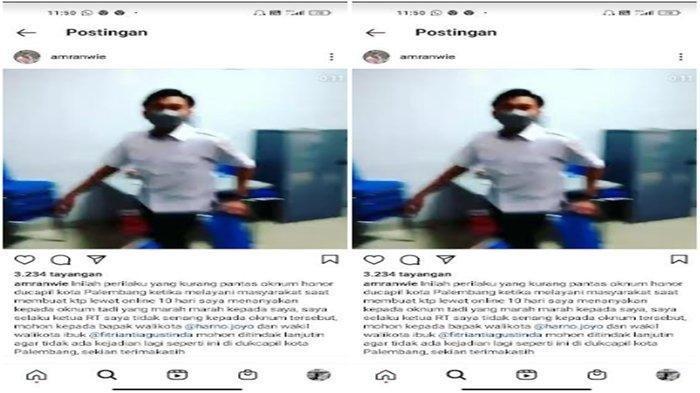 Fakta Viral Video Petugas Disdukcapil Palembang Ribut dengan Warga saat Urus KTP, Kini Minta Maaf