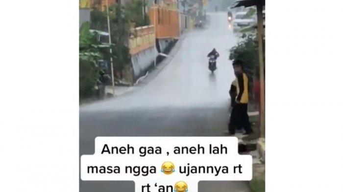 Penjelasan BMKG soal Video Viral Hujan Lokal antar-RT, Disebut HujanShower