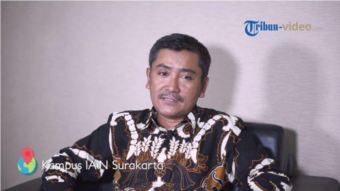 Wakil Rektor bidang administrasi umum, keuangan dan perencanaan IAIN Surakarta, Dr. H. Muhammad Munadi, S.P.d, M.P.d,