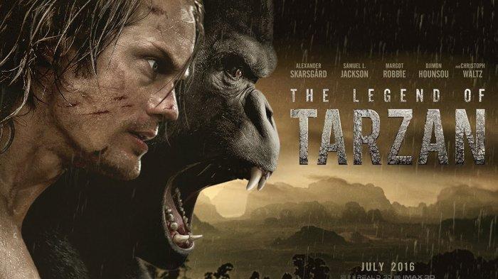 Sinopsis Dan Trailer Film The Legend Of Tarzan 2016 Dibintangi Oleh Alexander Skarsgard Tribun Wow