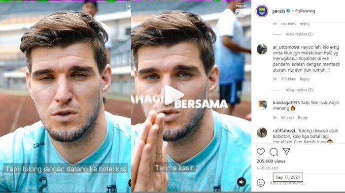 Teguran Bek Asing Persib Bandung Nick Kuipers untuk Bobotoh yang Ngeyel di Liga 1 2021