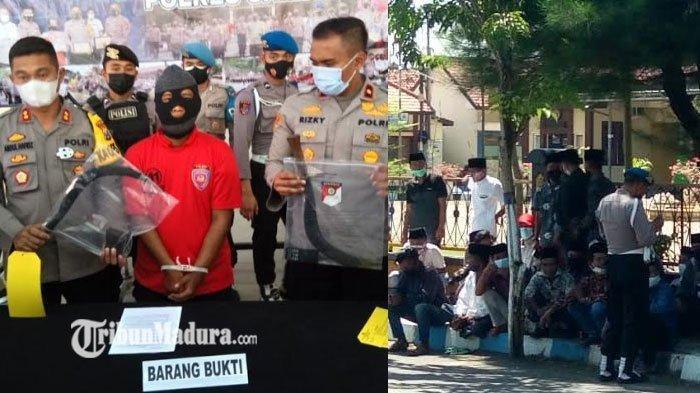 Berawal dari Perkara Bunyi Klakson, Seorang Pria di Sampang Tewas Disabet Celurit Tiga Pria