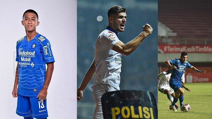 Tiga pemain Persib Bandung yang absen di Laga leg kedua final Piala Menpora 2021 kontra Persija Jakarta.