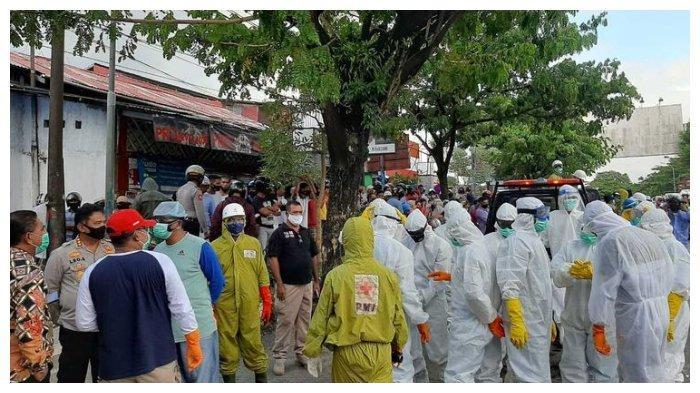 Warga di Ambon Cegat Ambulans untuk Ambil Paksa Jenazah Pasien Covid-19, sampai Cekcok dengan Polisi