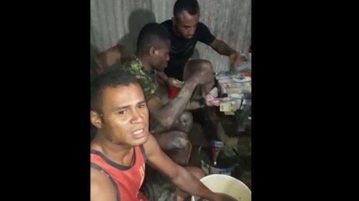 Viral di Facebook Video 3 Anggota TNI Cuci Uang, Ini Alasan Mereka Melakukannya