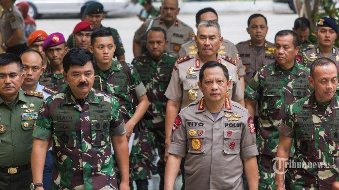 Polri dan TNI Bergabung Melakukan Operasi Penangkapan Teroris, Inilah Formasi yang Siap Diterjunkan
