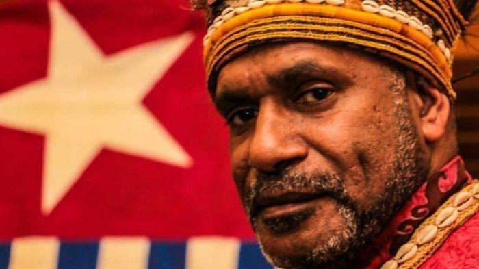 Tokoh separatisme Papua Barat, Benny Wenda.