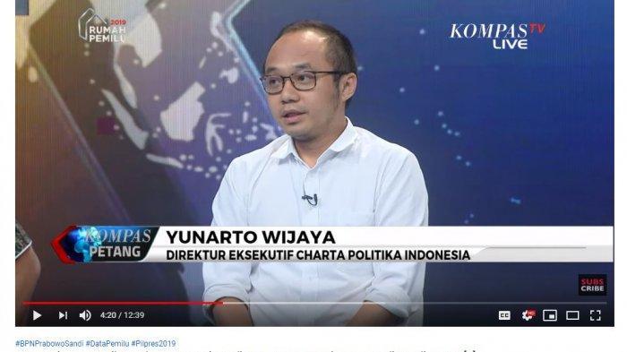 Soal Klaim 54 Persen Kubu Prabowo, Yunarto Wijaya: Semoga Ada Data Bombastis untuk Membuktikannya