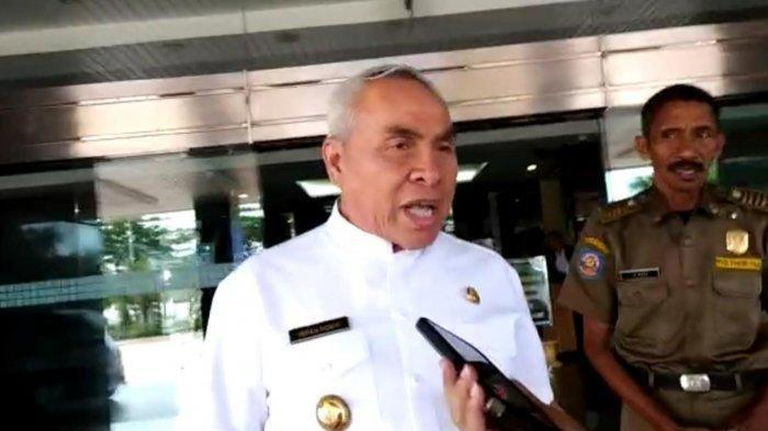 Sempat Ngaku Sudah Suntik Vaksin Booster Moderna kepada Jokowi, Gubernur Kaltim Isran Noor Membantah