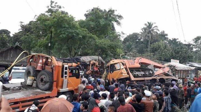 Kecelakaan Maut di Sibolangit, 2 Orang Dikabarkan Meninggal hingga Jalur Medan-Brastagi Lumpuh Total