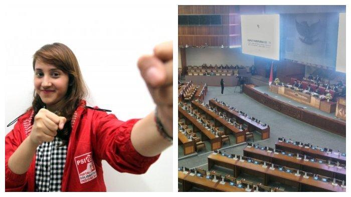 Reaksi Tsamara Amany saat Tahu Ratusan Anggota DPR Tak Hadiri Rapat Paripurna