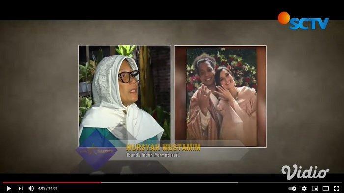 Tuding Arie Kriting Jahat, Ibu Indah Permatasari Nangis Sesenggukan: Bila Perlu Indah Saya Cuci