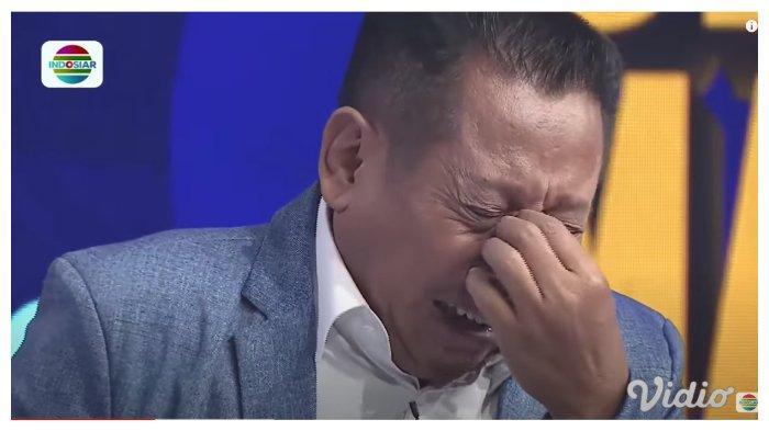 Tukul Arwana menangis mendengar Betrand Peto menyanyikan lagu 'Titip Rindu buat Ayah', Kamis (23/7/2020).
