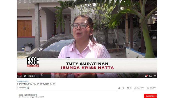 Tuty Suratinah, ibunda Kriss Hatta.