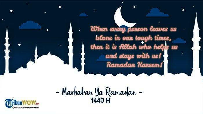 Ucapan Ramadan bahasa Inggris 10 (Grafis TribunWow.com)