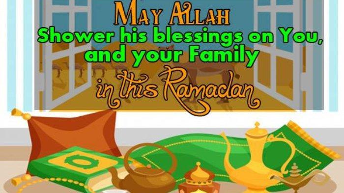 Ucapan Ramadhan bahasa Inggris 4
