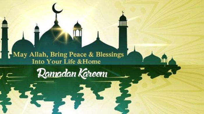 Ucapan Ramadhan bahasa Inggris 5