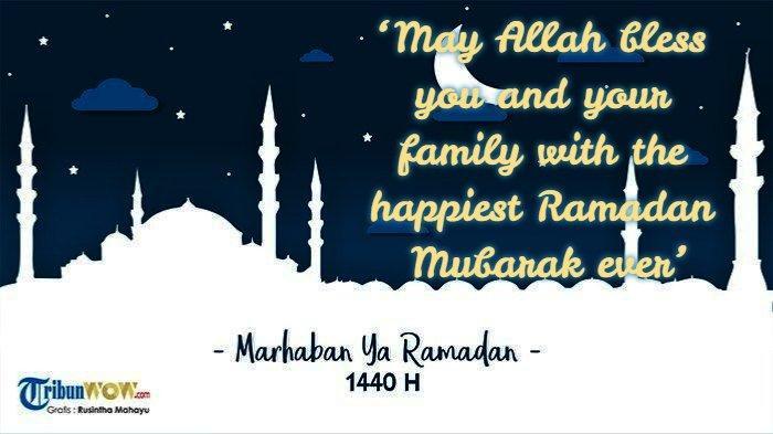 Ucapan Ramadan bahasa Inggris 7 (Grafis TribunWow.com)