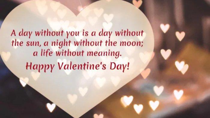 Kumpulan 60 Ucapan Hari Valentine Romantis, Cocok Dikirim ke Orang Terkasih via WA, IG, FB, Twitter