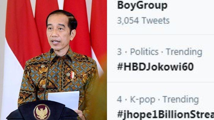 Ultah Jokowi Trending Topic Twitter, Netizen Minta Sepeda hingga Mimpi Ditraktir Jokowi Makan Soto