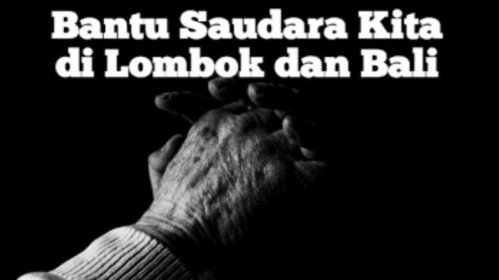 Gempa Lombok, Anggun C Sasmi Ajak Warganet Memberikan Donasi
