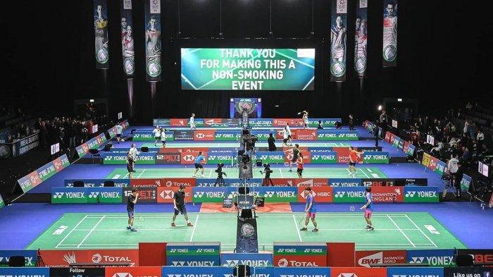 Unggahan Badminton World Federation (BWF) 17 Maret 2021.Terbaru, BWF mengumumkan mundurnya Tim Indonesia dari All England 2021, Kamis (18/3/2021).