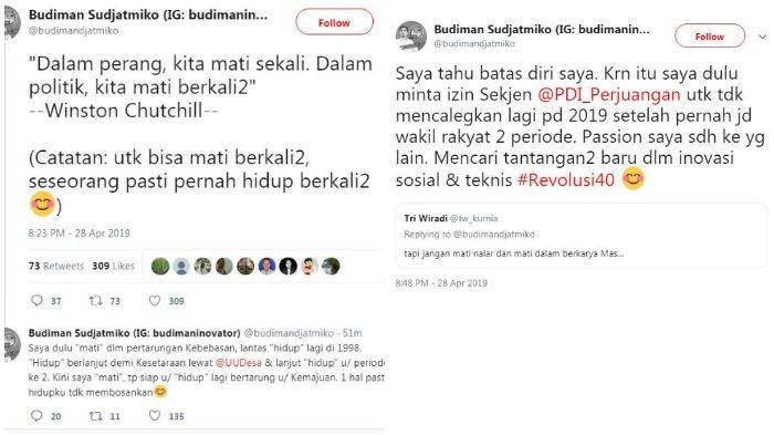 Unggahan Budiman Sudjatmiko