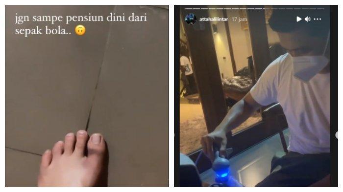 Unggahan Instagram Atta Halilintar pada Selasa (6/7/2021)