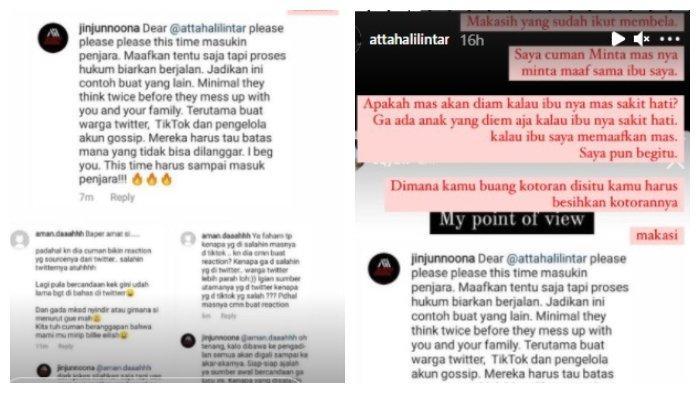 Unggahan Instagram Atta Halilintar pada Senin (7/6/2021)