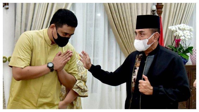 Sempat Saling Sindir, Reaksi Gubernur Sumut Dikunjungi Bobby Nasution saat Lebaran: Sejak Dulu Dekat