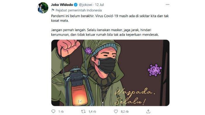 Ramai Ilustrasi di Medsos Jokowi Disebut Menjiplak Media Turki, Pihak Istana: Sudah Berlangganan