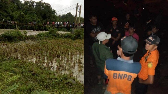 Jembatan Putus akibat Banjir Bandang di Bengkulu, 4 Orang Tewas, 6 Orang Hilang, Ini Identitasnya