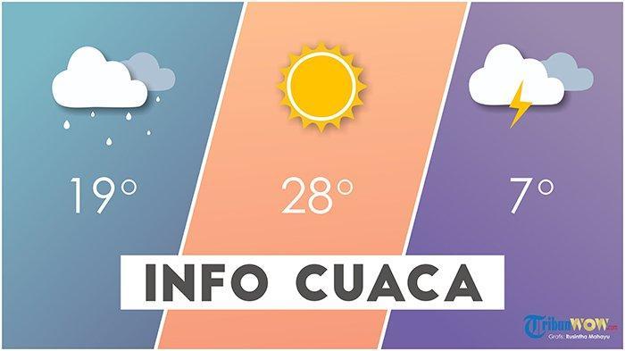 Info BMKG - Prakiraan Cuaca 33 Kota Besok, Senin 19 Oktober 2020: Waspada Hujan di 14 Wilayah Ini