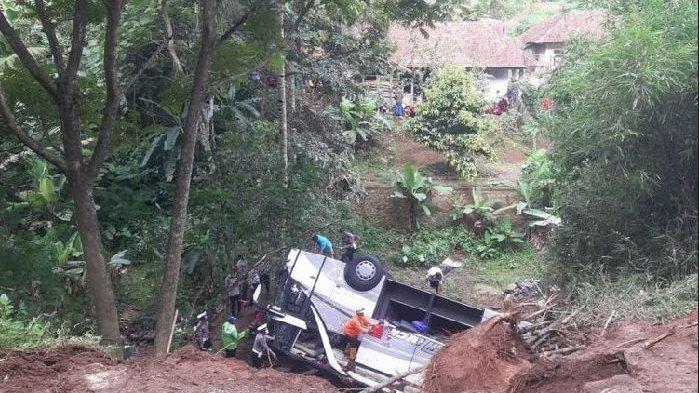 Daftar Terbaru Identitas Korban Kecelakaan Maut Bus di Sumedang, Total Korban Tewas Jadi 29 Orang