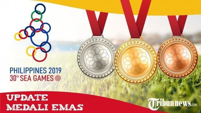 UPDATE Perolehan Medali SEA Games 2019: Indonesia Tambah 14 Emas Hari Ini, Kokoh di Peringkat Kedua