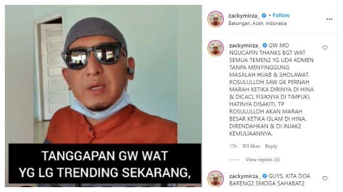 Ustaz Zacky Mirza angkat bicara soal kasus perselingkuhan Nissa Sabyan dan Ayus.