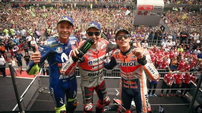 Live Streaming MotoGP Valencia, Pembuktian Valentino Rossi untuk Tampil Konsisten