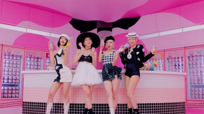 Video klip 'Ice Cream' - Blackpink dan Selena Gomez.