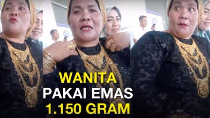 Pengakuan Heboh Wanita yang Kenakan Perhiasan 1 Kg Emas, Hasil Jadi PSK?