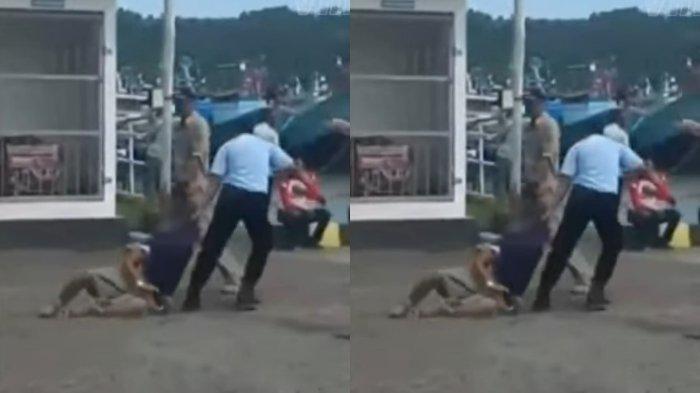 Video viral narapidana diseret petugas Lapas