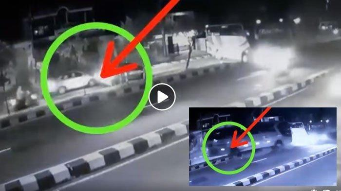 Viral bus Sugeng Rahayu tanrak bus rombongan study tour